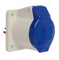 Panel Mounting Socket Straight - Size - 75*52*46