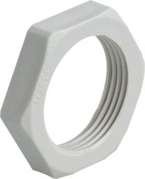 Locknuts RAL 7035 - Agro Cable gland 60 mm