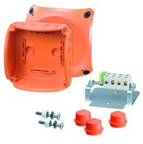 EnyCase FK Polycarbonate Cable Junction Boxes - 130X130X77 - FK 0604