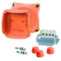 EnyCase FK Polycarbonate Cable Junction Boxes - 130X130X77 - FK 0606