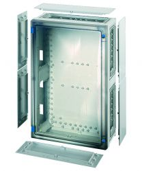 ENYSTAR FP polycarbonate Empty enclosures with closing plates - 366*546*186 - FP 0411