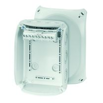 EnyCase Thermoplastic Cable Junction Boxes - With Terminal - 130 x 180 x 77 - KF 1006 G